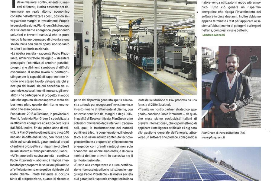 La rivista Green Economy parla di noi – Green Economy – Agosto 2020