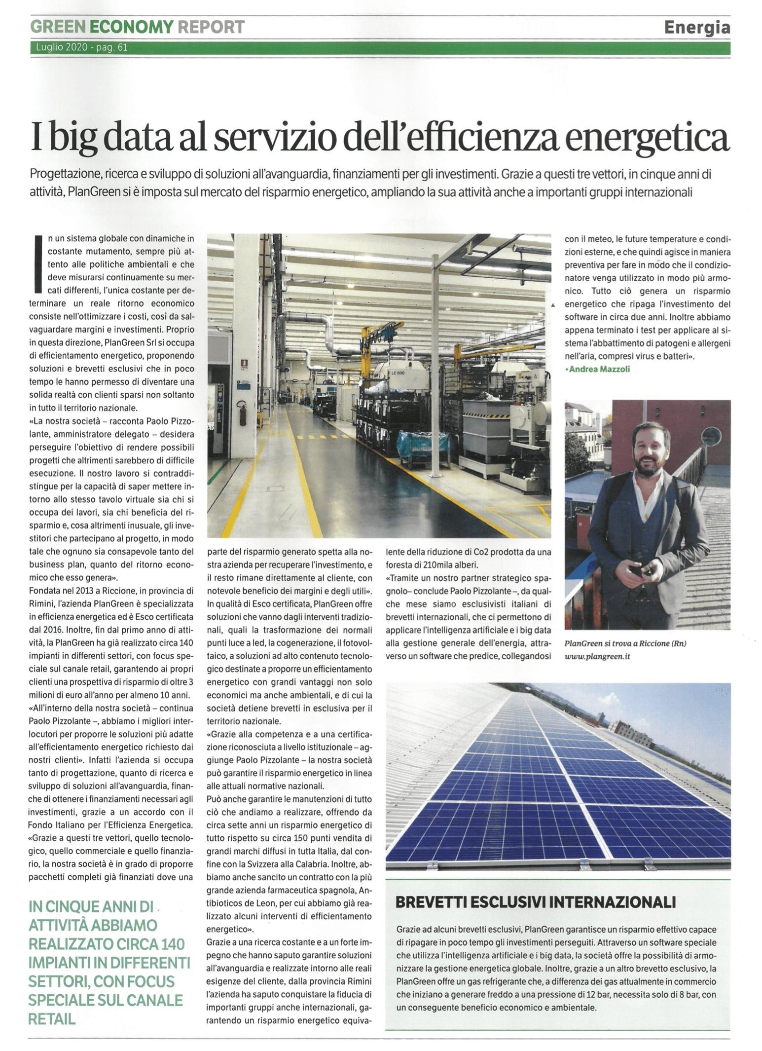 Plan Green - Green Economy