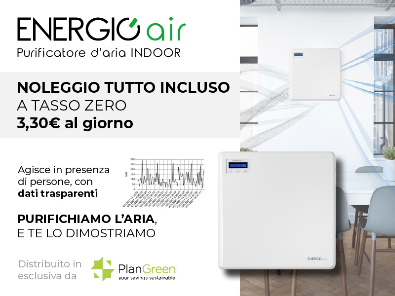 Purificatore d'aria indoor